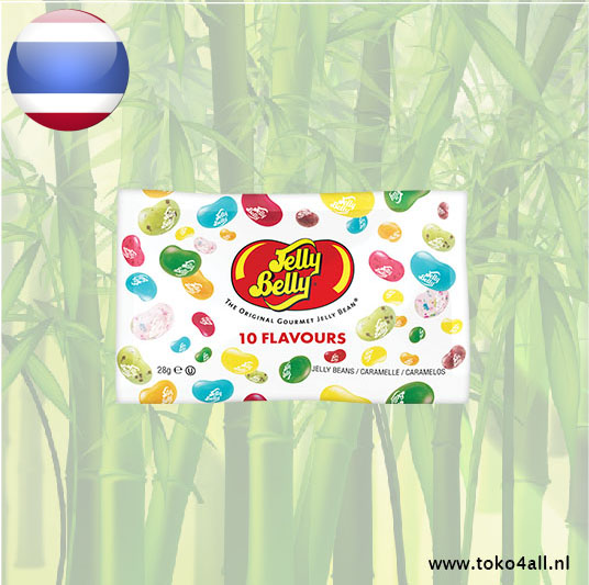 Toko 4 All - 10 Flavours Beans 28 gr Jelly Belly