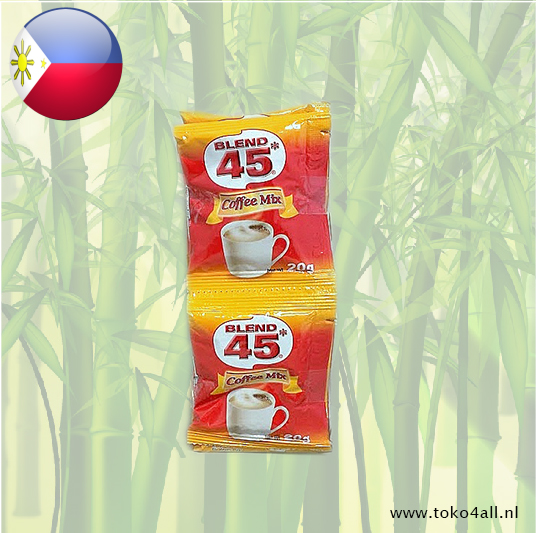 Toko 4 All - 3 in 1 Coffee Mix 10 x 20 gr Blend 45