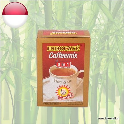 Toko 4 All - 3 in 1 instant Coffee Mix 100 gr Indocafe