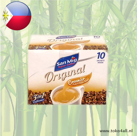 Toko 4 All - 3 in 1 Mild Coffee 10 x 20 gr San Mig Super Coffee