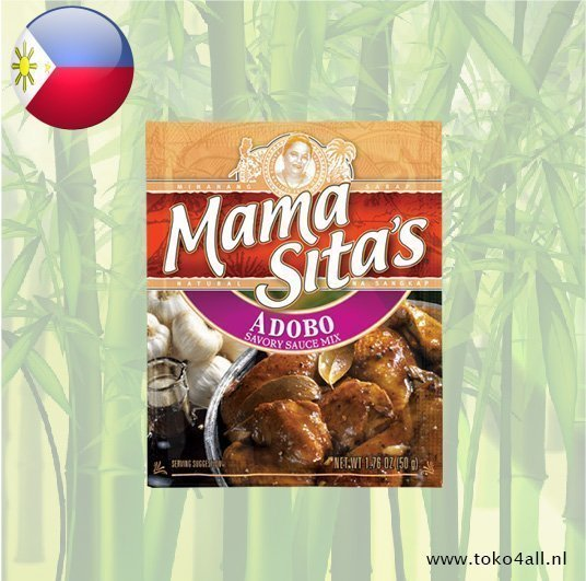 Toko 4 All - My Little Philippines - Adobo Saus mix 50 gr Mama Sita's