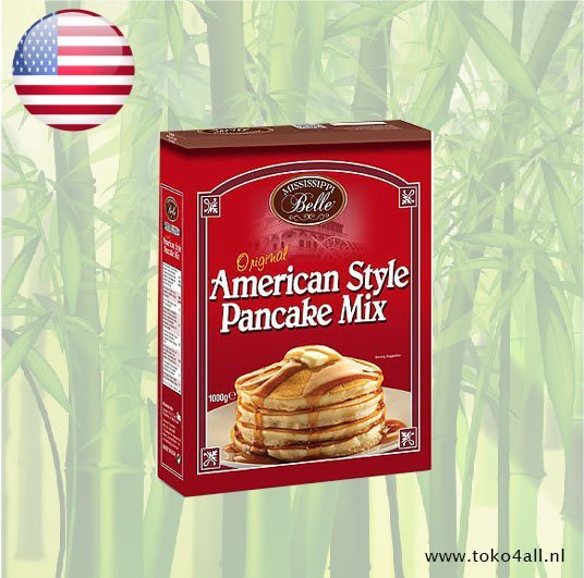 Toko 4 All - All American Pancake mix 454 gr Mississippi Belle