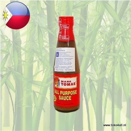 Toko 4 All - All Purpose Saus Heet 330 gr Mang Tomas