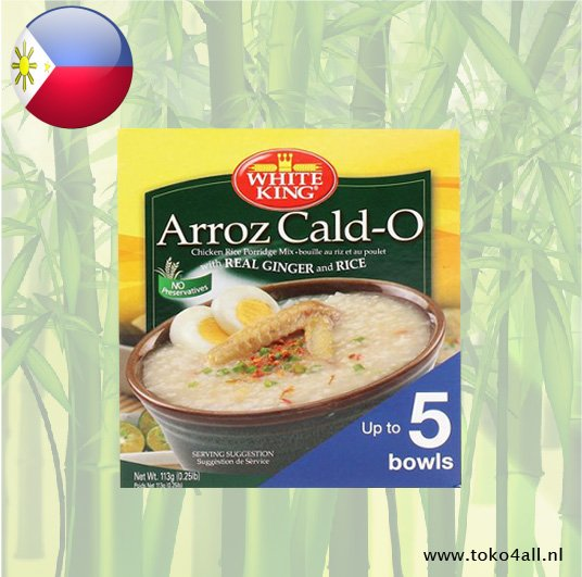 Toko 4 All - My Little Philippines - Arroz Caldo 113 gr White King