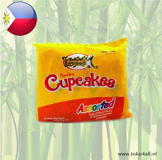 Toko 4 All - Assorted Cupcakes 300 gr Lemon Square