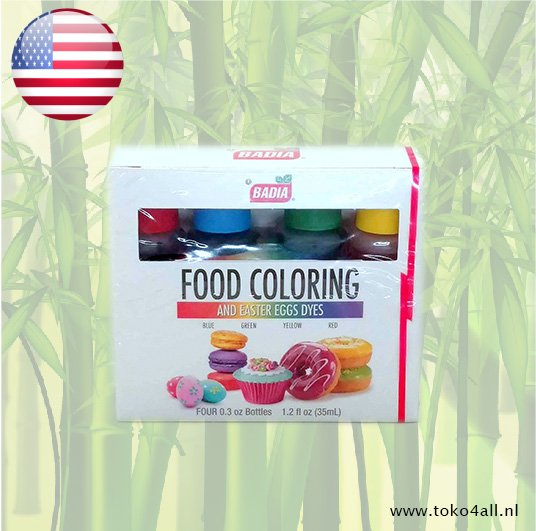 Toko 4 All - Assorted Food Color Kit 35 ml Badia