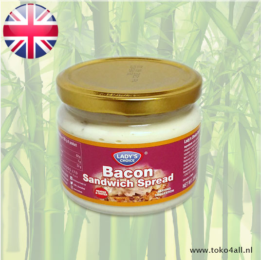 Toko 4 All - My Little Philippines - Bacon Sandwich Spread 280 gr Ladys Choice