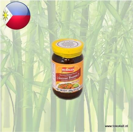 Toko 4 All - My Little Philippines - Bagoong Ginisang Regular 250 gr Buenas