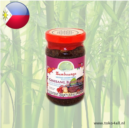 Toko 4 All - My Little Philippines - Bagoong Ginisang Spicy 250 gr Zamboanga