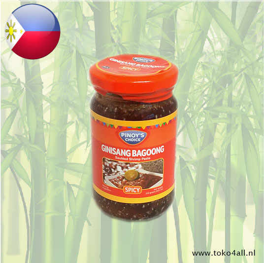 Toko 4 All - My Little Philippines - Bagoong Guisado Pikant 250 gr Pinoys Choice