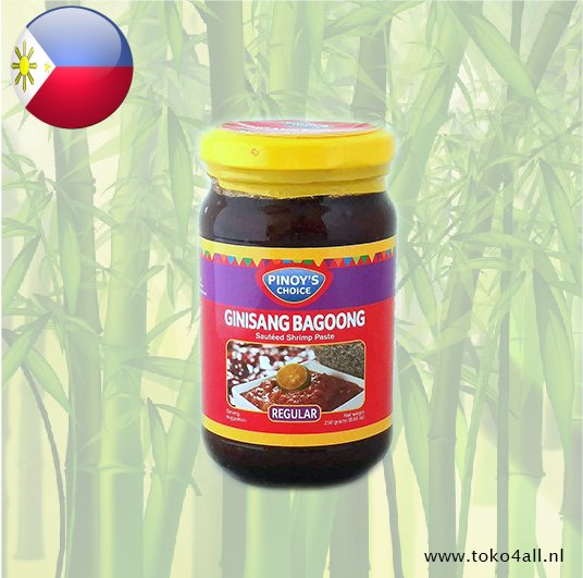 Toko 4 All - My Little Philippines - Bagoong Guisado Regular 250 gr Pinoys Choice
