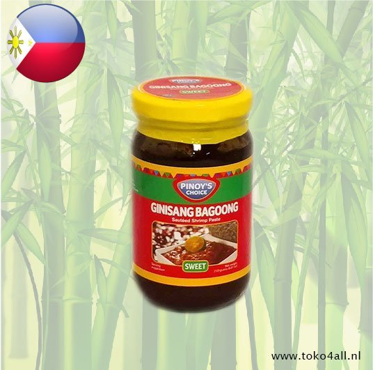 Toko 4 All - Bagoong Guisado Zoet 250 gr Pinoys Choice