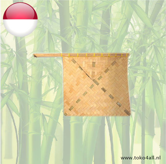 Toko 4 All - Bamboo hand Fan for BBQ 25 x 30 cm Amboina