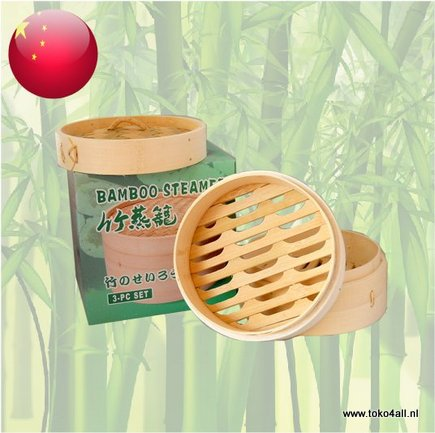 Toko 4 All - Bamboo Steamer 2 layers 15 cm