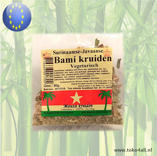 Toko 4 All - My Little Philippines - Bami Spice Mix 50 gr Maussi Kruiden