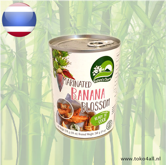 Toko 4 All - Banana Blossom marinated 510 gr Natures Charm