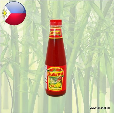 Toko 4 All - Banana Sauce Hot 340 gr Jufran