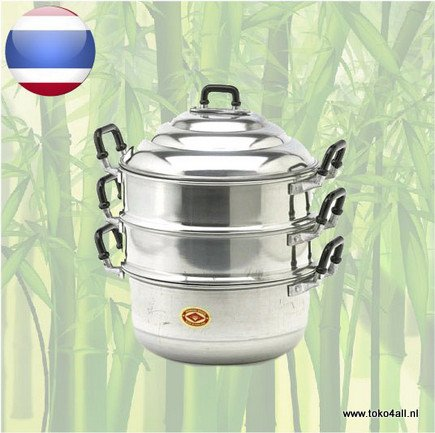 Toko 4 All - My Little Philippines - Bapao Steamer 26 cm Diamond Brand