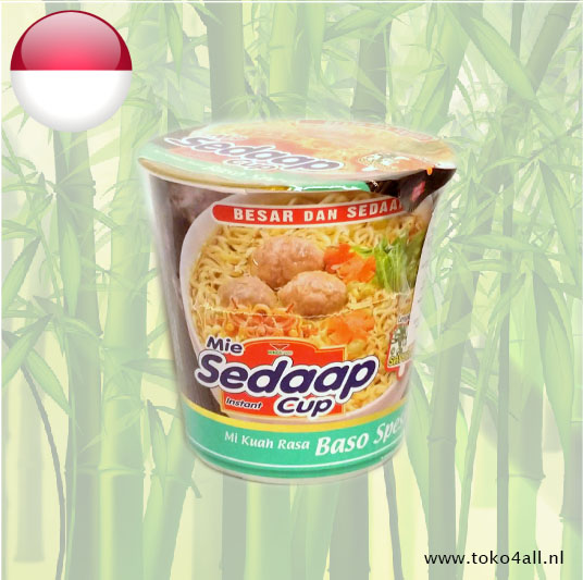 Toko 4 All - Baso Special Instant Cup noodles 77 gr Sedaap