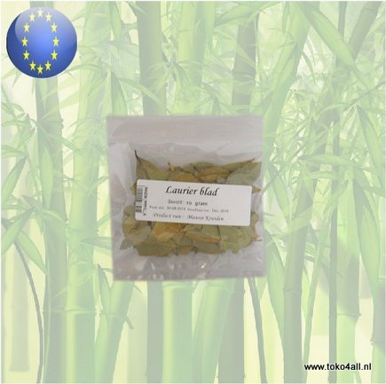 Toko 4 All - Bay Leaves 10 gr Maussi Kruiden