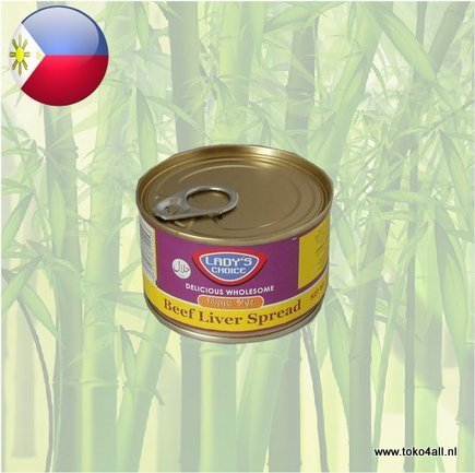 Toko 4 All - Beef Liver Spread Filipino style 165 gr Ladys Choice