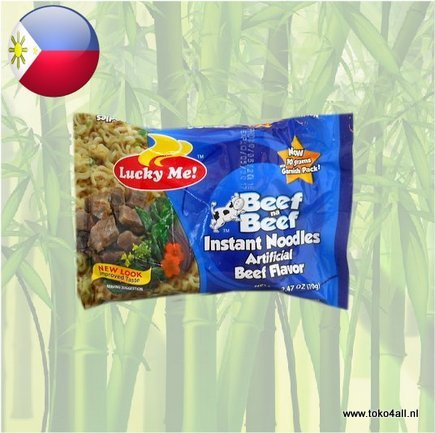 Toko 4 All - My Little Philippines - Beef Na Beef Instant Noodles 70 gr Lucky Me