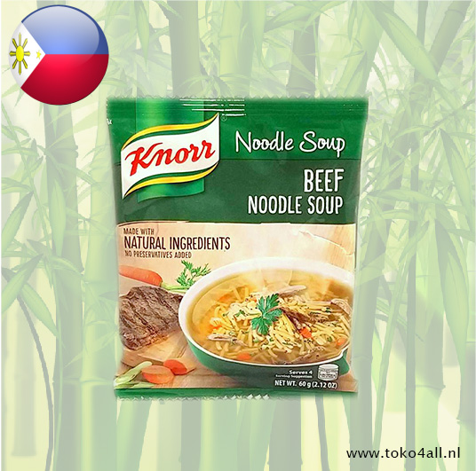 Toko 4 All - Beef Noodle Soup 60 gr Knorr