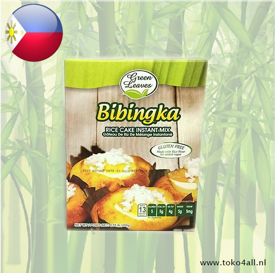 Toko 4 All - My Little Philippines - Bibingka Mix 250 gr Green Leaves
