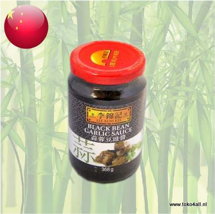 Toko 4 All - Black Bean Garlic sauce 368 gr Lee Kum Kee