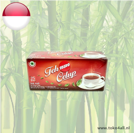 Toko 4 All - Black Tea 50 gr Sosro