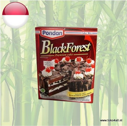 Toko 4 All - Blackforest Premium Cake 400 gr Pondan
