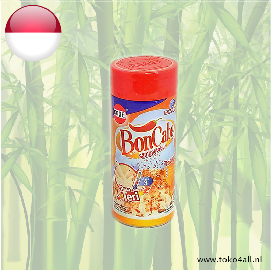 Toko 4 All - Bon Cabe Level 3 anchovy flavor 50 gr Kobe
