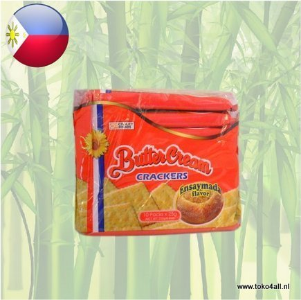 Toko 4 All - My Little Philippines - Boter Creme Crackers Ensaymada 250 gr Sunflower