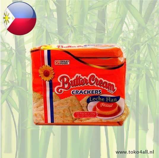 Toko 4 All - Boter Creme Crackers Leche Flan 250 gr Sunflower