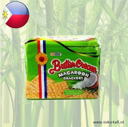Toko 4 All - Boter Creme Crackers Macaroon 250 gr Sunflower
