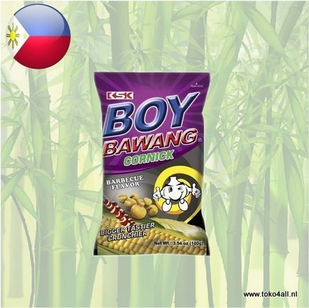 Toko 4 All - Boy Bawang Barbecue Cornick 100 gr KSK