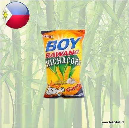 Toko 4 All - Boy Bawang Chichacorn Garlic 100 gr KSK
