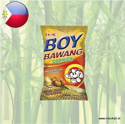 Toko 4 All - Boy Bawang Chili Cheese Cornick 100 gr KSK