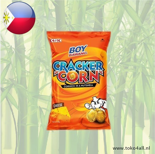 Toko 4 All - Boy Bawang Cracker Corn Cheese 80 gr KSK