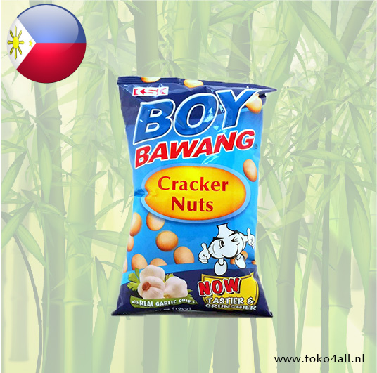 Toko 4 All - My Little Philippines - Boy Bawang Cracker Nuts 100 gr KSK