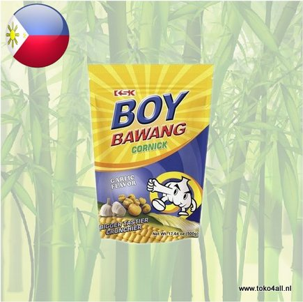 Toko 4 All - Boy Bawang Garlic Cornick 500 gr KSK