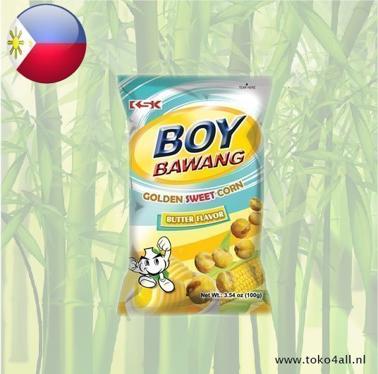 Toko 4 All - Boy Bawang Golden sweet corn butter flavor 100 gr KSK
