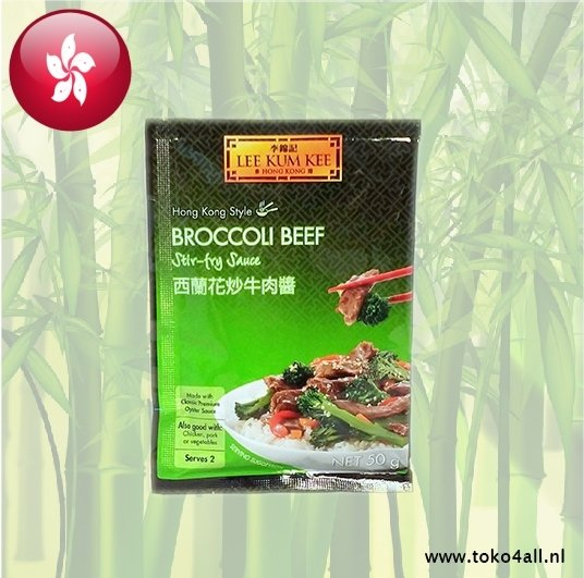 Toko 4 All - Broccoli Beef Stir-fry sauce 50 gr Lee Kum Kee
