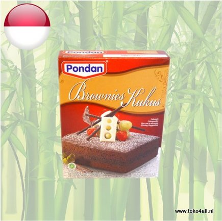 Toko 4 All - Brownies Kukus cake mix 400 gr Pondan