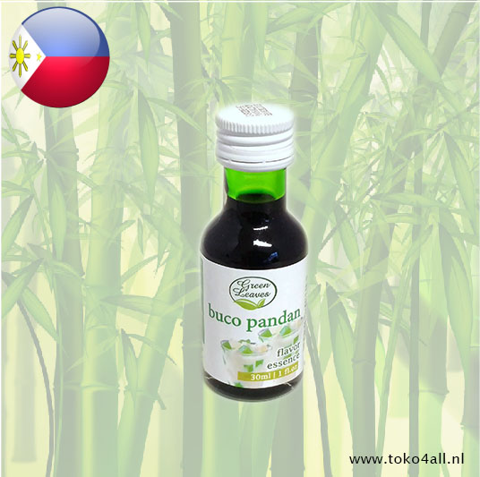 Toko 4 All - My Little Philippines - Buco Pandan Flavour 30 ml Green Leaves