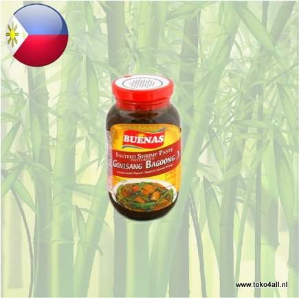 Toko 4 All - Buenas Bagoong Sauteed Shrimp Paste Spicy 340 gr