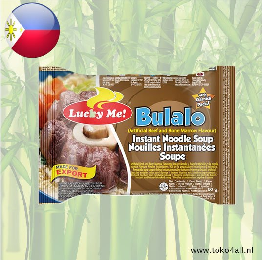 Toko 4 All - Bulalo Instant Noodle Soup 60 gr Lucky Me