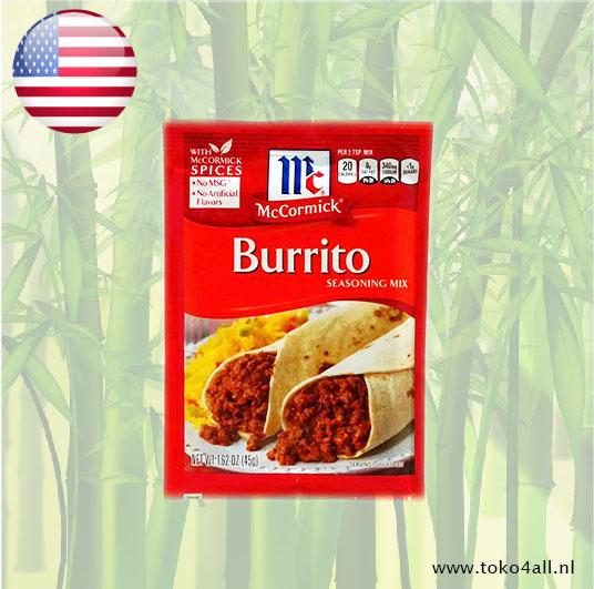 Toko 4 All - Burrito seasoning mix 45 gr McCormick