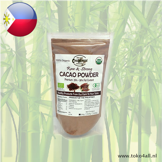 Toko 4 All - Cacao poeder 250 gr Coco Wonder