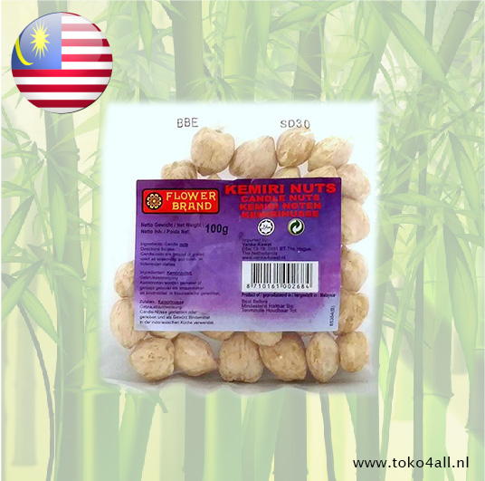 Toko 4 All - Candle Nuts 100 gr Flower Brand